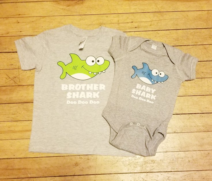 Baby shark pregnancy announcement